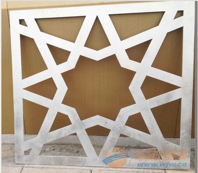 厂家直销木纹铝窗花 防盗铝窗