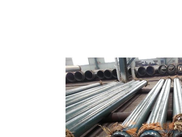 供應河南洛陽洗煤廠專用陶瓷貼片耐磨管道
