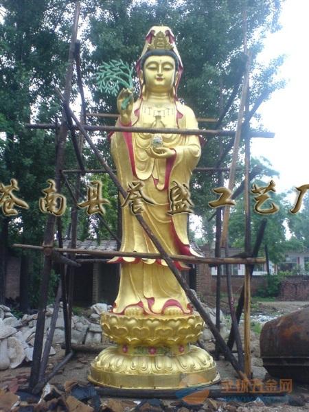 佛像【专业塑造】菩萨像▲-【供应】千手观音-鱼龙