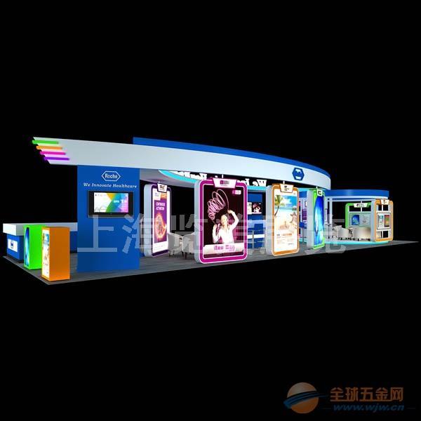 上海医疗展展台设计-上海医疗展展台设计效果图欣赏