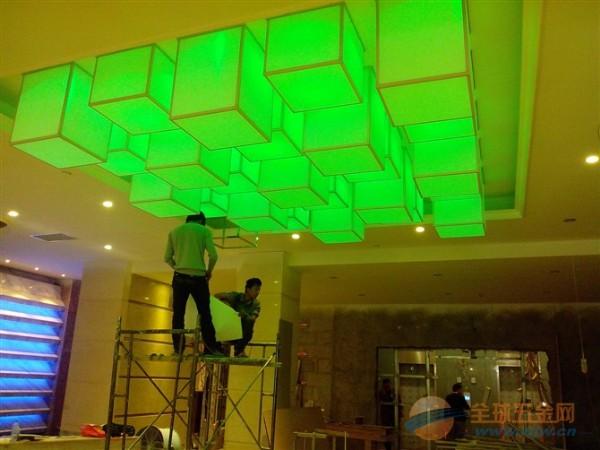 南充软膜天花吊顶柔性透光灯箱A级防火膜施工价格