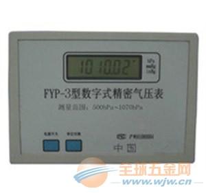 大气压计,微压计-fyp-3型数字式精密气压表北京-全球图片
