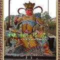 四大护法,四大天王佛像。