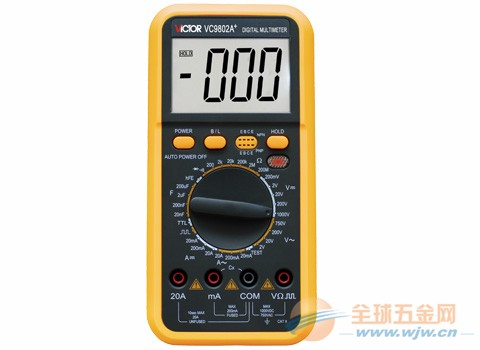 数字万用表 VC9802A+