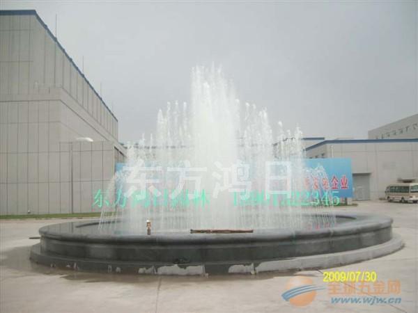 大型音乐喷泉水景设计施工图片