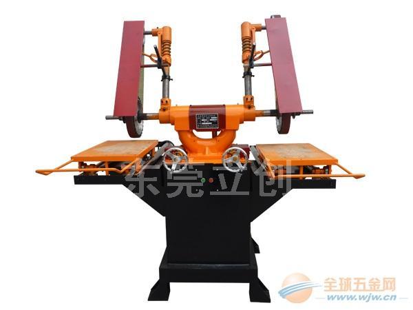 圆盘四组砂带平面自动磨砂机LC-ZL610-DRL