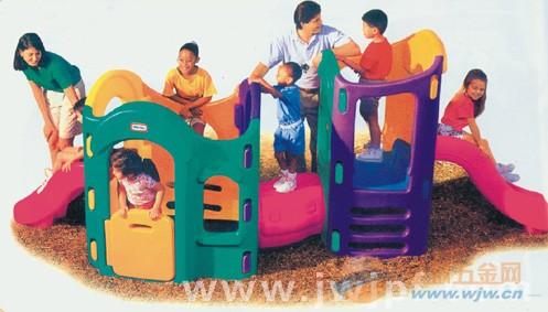 幼儿园中小型滑梯八合一组合滑梯