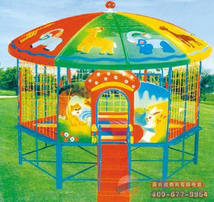 重庆幼儿园玻璃钢蓬蹦床重庆玩具厂 重庆儿童蹦床价格是多少