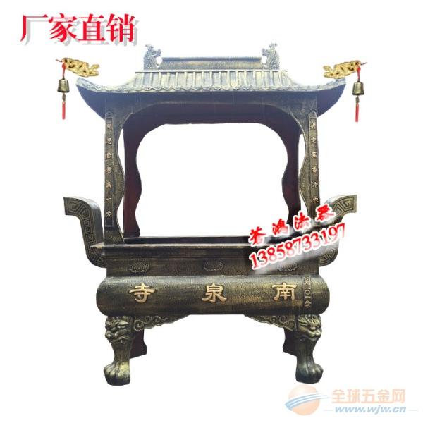 生铁铸造寺外香炉