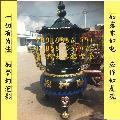 寺庙香炉**铸铁香炉