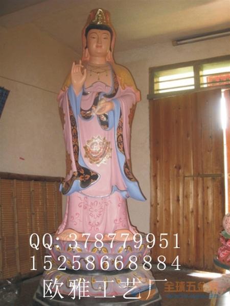 木雕,玻璃钢,树脂,铸铜海岛观音像