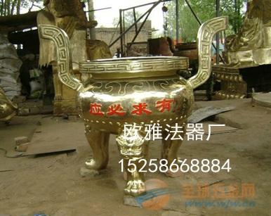 铸铁圆形香炉 圆形平口香炉 平口圆形香炉
