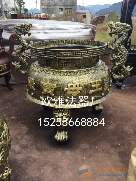 【圆形香炉】 圆形【平口】香炉 【平口】圆形香炉