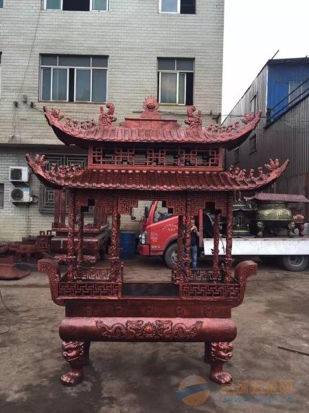 长方形香炉【铸铁长方形香炉】寺院长方形香炉