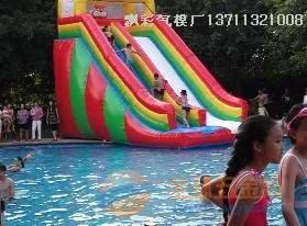 广州儿童滑梯广州大型充气滑梯浙江充气攀岩气垫大型玩具充气波波池充气水池