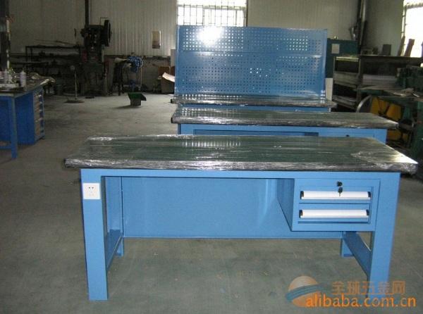 供应慈溪重型工作台 宁波模具桌 金华两抽重型工作台