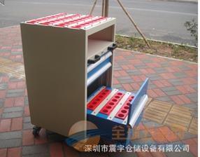 CNC刀具柜-三抽刀具车-锣床刀具柜-刀具存放柜