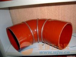 连云港钢丝硅胶胶管 软连接管 秦鼎公司提供标准规格(图)