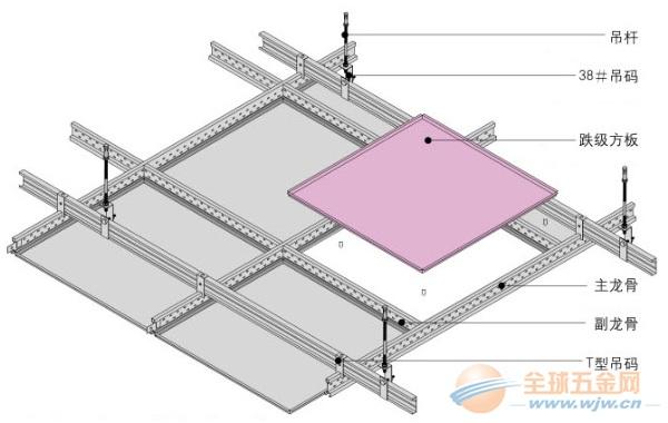 400*400方板 铝扣板吊顶