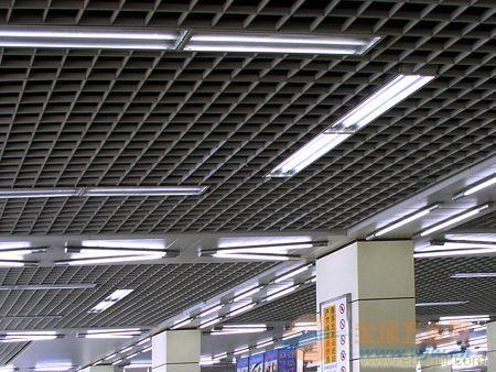 铝格栅天花-郑州黑色铝格栅天花吊顶-全球五金网