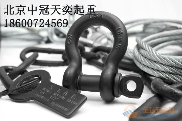 买高强度D型200T卸扣专业生产