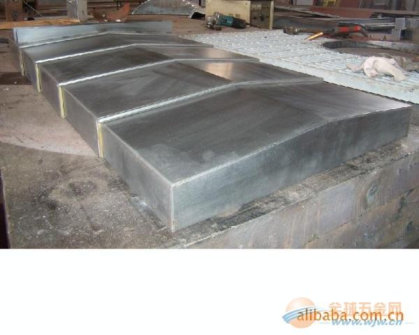 钢板导轨伸缩防护罩