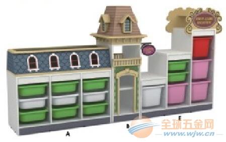 鞍山幼儿园玩具柜