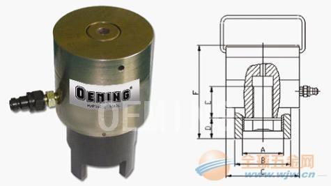 现货供应德国进口OEMING(奥铭)FHL系列弹簧复位螺栓拉伸器