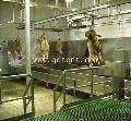羊自动沥血线 羊屠宰设备