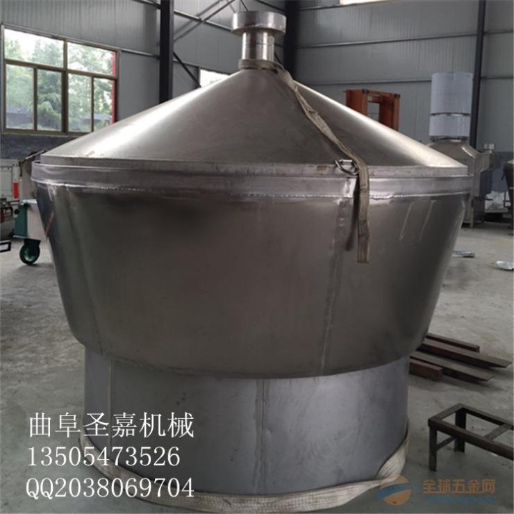 吉林白钢高粱酿酒机图片 白酒冷却器生产厂家 东北小烧蒸酒机