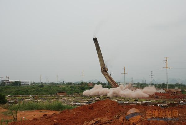 和田拆除烟囱专业公司