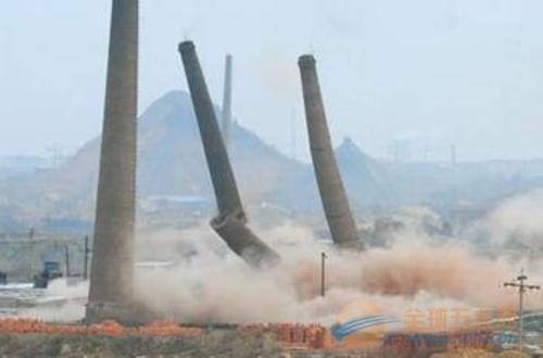 达州拆除烟囱公司