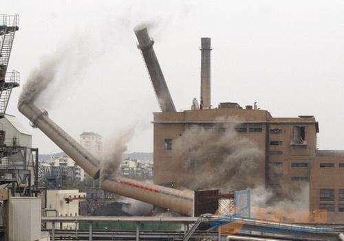 南充拆除烟囱公司