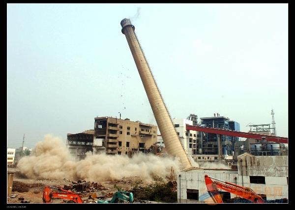 阿克苏拆除烟囱专业公司