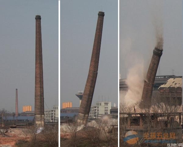 阿勒泰拆除烟囱专业公司