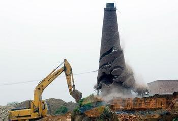 吐鲁番拆除烟囱专业公司