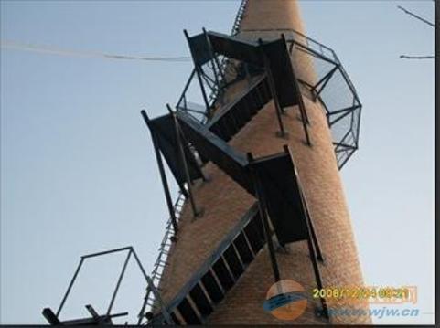 长沙混凝土烟囱安装爬梯公司欢迎您