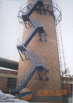 庆阳烟囱安装螺旋梯公司