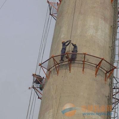 张家界混凝土烟囱安装爬梯公司欢迎您