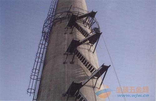 酒泉锅炉烟囱安装爬梯护网公司欢迎您