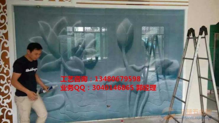 玻璃uv喷画机/艺术玻璃画印花机/玻璃背景墙打印机
