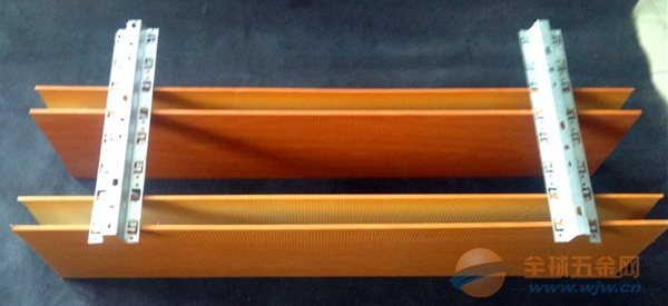 木纹u型铝方通