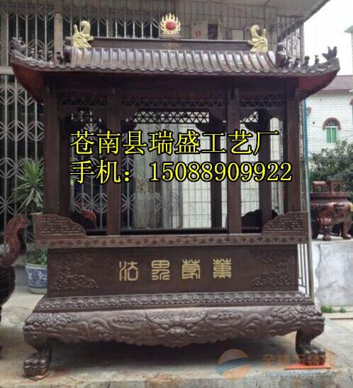 寺庙长方形香炉、长方形带盖香炉