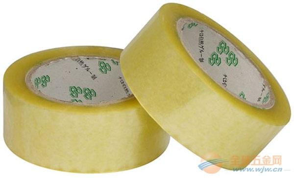 苏州透明BOPP封箱胶带 常熟米黄胶带