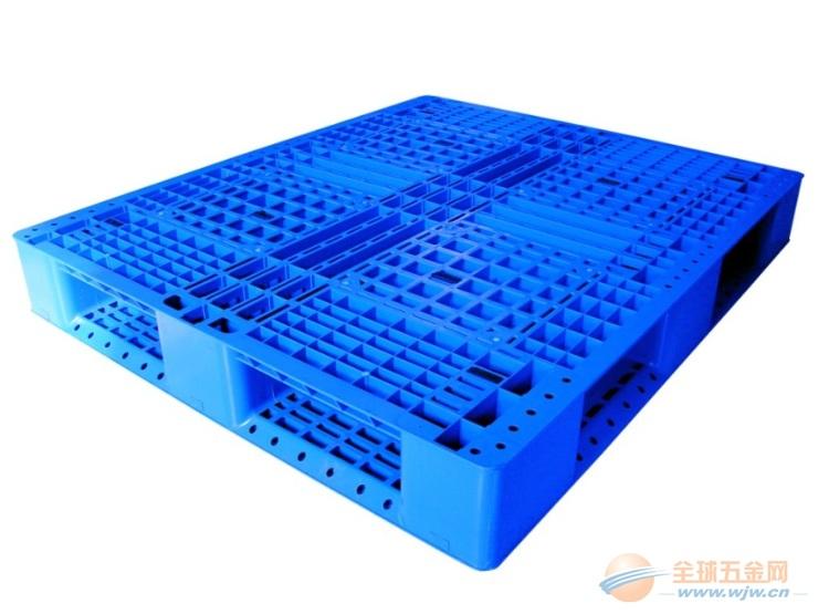 苏州蓝色塑料托盘 常熟零件盒