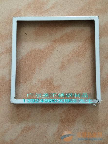 不锈钢相框 专业焊接不锈钢相框的边框 45 角拼接打磨不锈钢图片