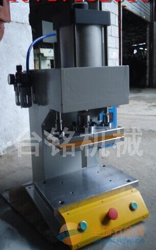 气动热压机/tm-102f小型气压热压鼓包机图片