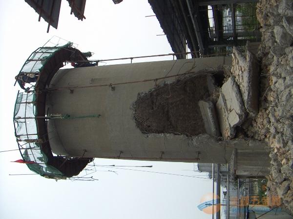 烟囱人工拆除公司