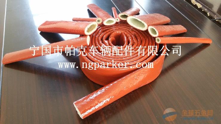钢铁厂专用铁锈红色玻纤套管