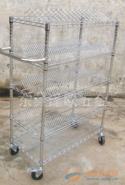 青岛防静电置物架现货 青岛线网置物架特卖